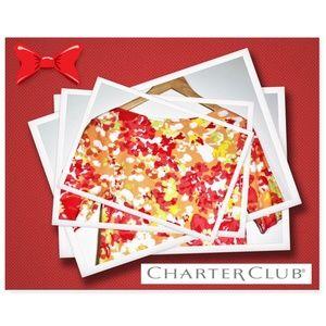 Charter Club EUC! Liberty Floral Print 3/4 Sleeves